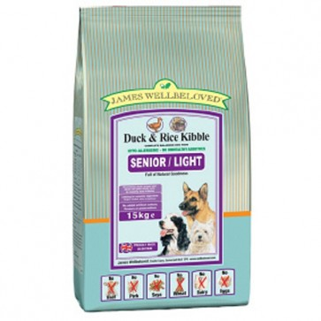 James Wellbeloved Duck & Rice Dog Food Varieties 15kg