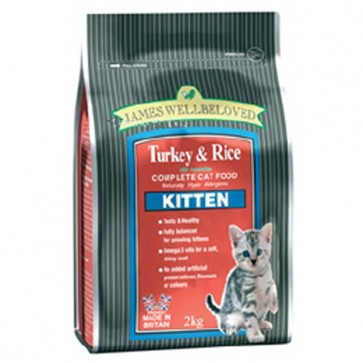 James Wellbeloved Kitten Food 5kg