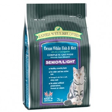 James Wellbeloved Senior Light Cat Food 5kg