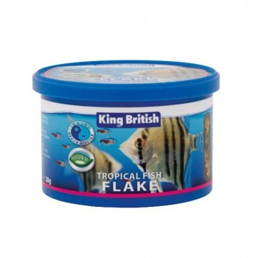 King British Tropical Fish Flake Food