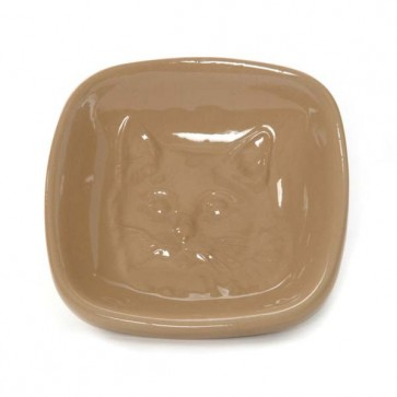 Mason & Cash Embossed Cat Saucer