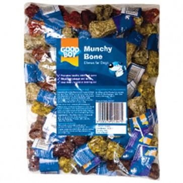 Bulk Munchy Knuckle Bones 11.5cm x 100 Pack