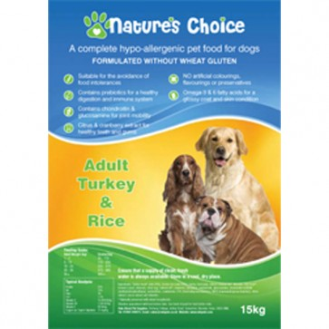Natures Choice Dog Food 15kg