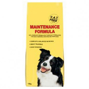 Omega Maintenance Dog Food 15kg