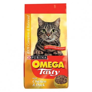 Omega Tasty Cat Food 10kg