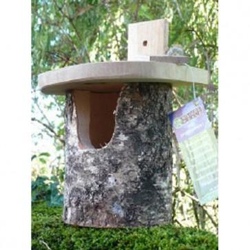 Silver Birch Robin Nesting Box