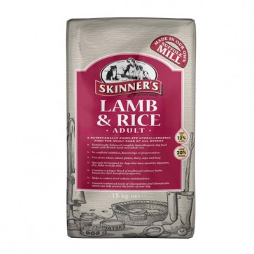 Skinners Lamb & Rice Sensitive Dog Food 15kg
