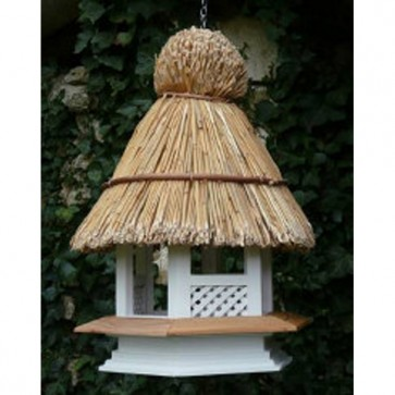 Thatched Gothic Wild Bird Table