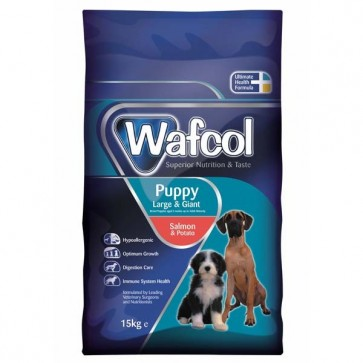 Wafcol Puppy Salmon & Potato 15kg - Large & Giant