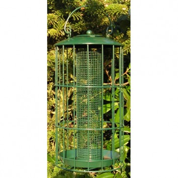 12 inch Large Squirrel Resistant Seed Feeder<br>By Johnston & Jeff