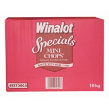 Winalot Mini Chops Dog biscuits 10kg