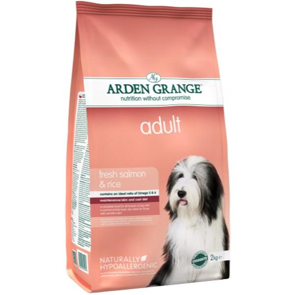 Arden Grange Adult Salmon Rice Dog Food 12kg