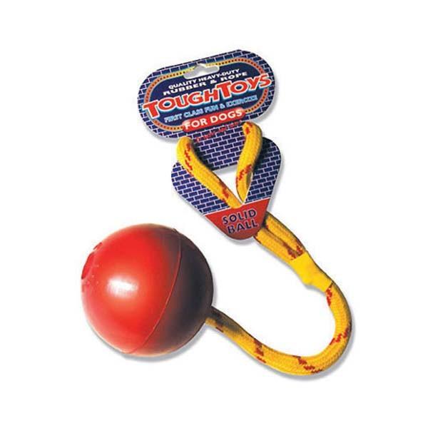 Jumbo Rope Ball Dog Toy