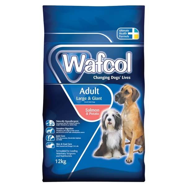 Wafcol Adult Salmon Potato Dog Food 12kg