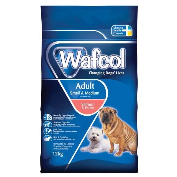 Wafcol Salmon Potato Small Medium Dog Food