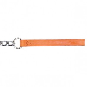 Leather & Chain Dog Lead