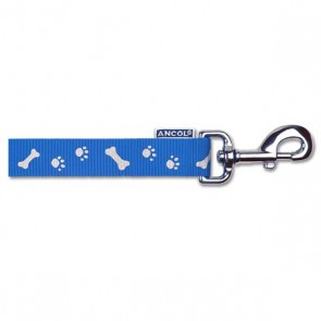 Reflective Paw & Bone Dog Lead