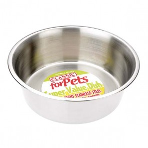 Classic Stainless Steel Dog Bowl