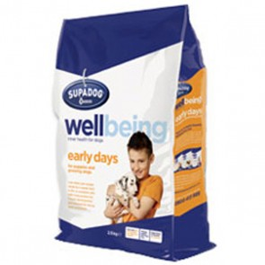 Burgess Supa Dog Wellbeing Early Days Puppy Food12.5kg