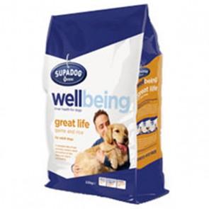 Burgess Supa Dog Wellbeing Great Life Dog Food 12.5kg