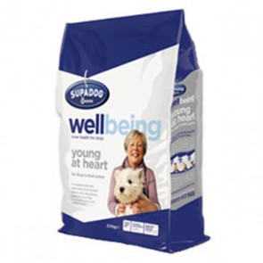 Burgess Supa Dog Wellbeing Young At Heart Dog Food 12.5kg