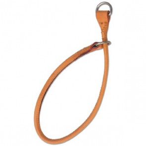 Ancol Leather Choke Dog Collar