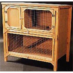 Guinea Pig Hutch - York Double Decker (Ply)