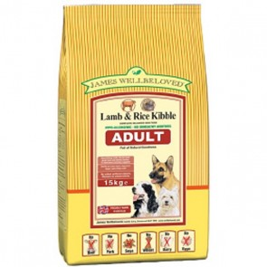 James Wellbeloved Lamb & Rice Dog Food Varieties 15kg