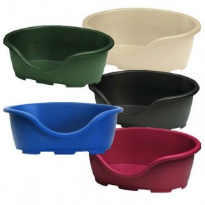 Perla Plastic Dog Beds