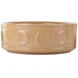 Mason & Cash Cane Style Dog Embossed Bowl 10in
