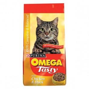 Omega Tasty Cat Food 10kg