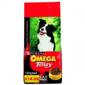 Omega Tasty Original Adult Dog Food 15kg