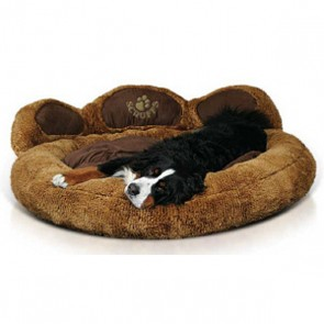Grizzly Bear Dog Bed Extra Large