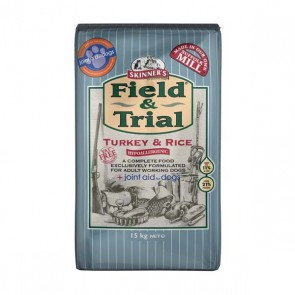 Skinners Field & Trial Turkey & Rice Dog Food 15kg
