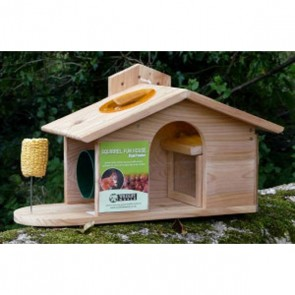 Squirrel Fun House Feeder