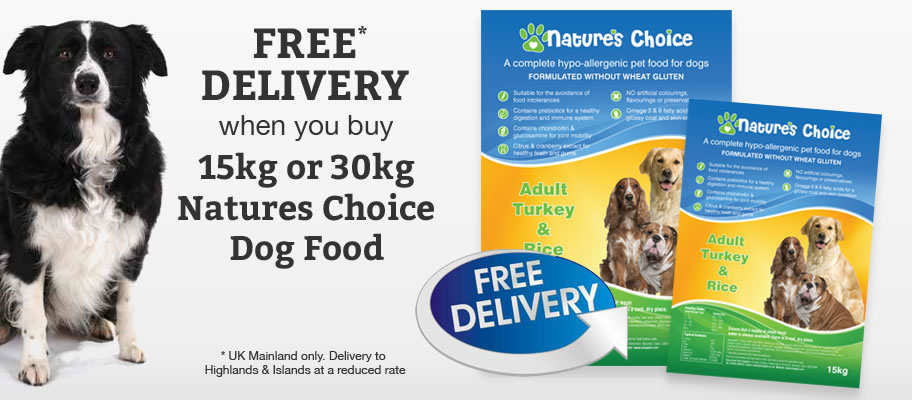 Natures choice dog food
